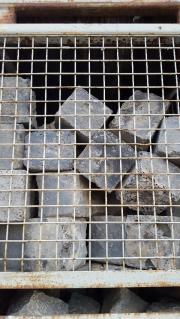 Schlacke Pflastersteine groß (