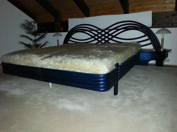 Bett rattan neu und gebraucht kaufen bei - Hochwertige schlafzimmermobel ...