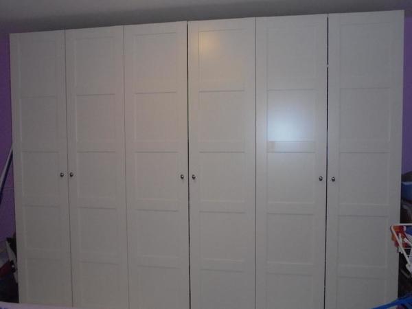 Schlafzimmerschrank ikea  Schlafzimmerschrank Ikea Pax in St Leon-Rot - Schränke, Sonstige ...