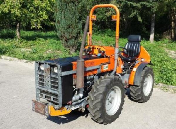 schmalspur traktor knicklenker holder a 550 s in. Black Bedroom Furniture Sets. Home Design Ideas
