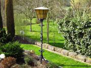 Schmiedeeisen Gartenlampe / Hoflampe /