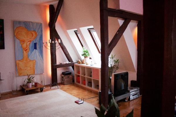 Schöne 3-Zimmer Wohnung mit Dachterrasse und Kamin, Provisionsfrei ...