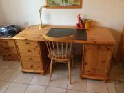 Schreibtisch - Kiefer Vollholz -