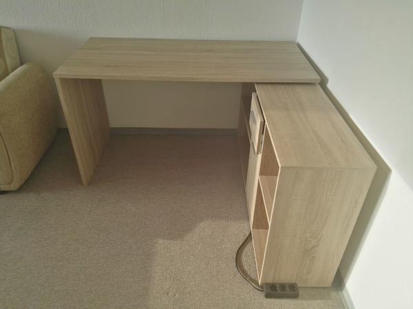 Schreibtisch Lex Eiche in München - Büromöbel kaufen und verkaufen ...
