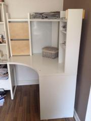 Büromöbel weiss ikea  Schreibtisch MICKE - Ikea Weiß Topzustand! in Hamburg - Büromöbel ...