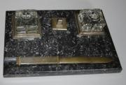 Schreibtischgarnitur alt