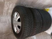 schtalfelgen mit Reifen