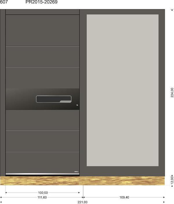 sch co pirnar modell 607 mit fingerscan und led in. Black Bedroom Furniture Sets. Home Design Ideas