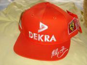 Schumacher Ferrrari DEKRA-Cap Sammlerstück