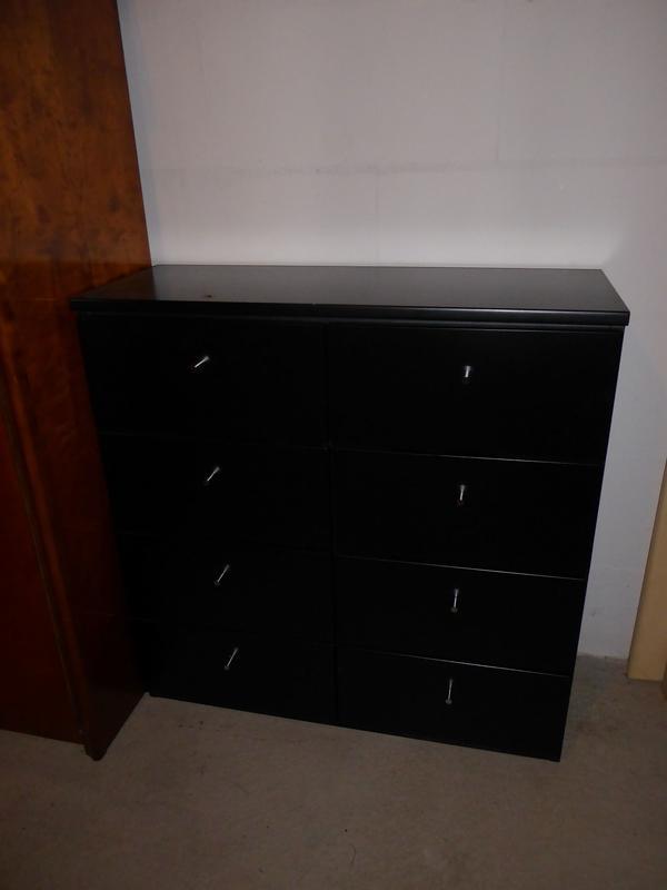 kommode schubladen schwarz gebraucht kaufen nur 3 st bis 60 g nstiger. Black Bedroom Furniture Sets. Home Design Ideas