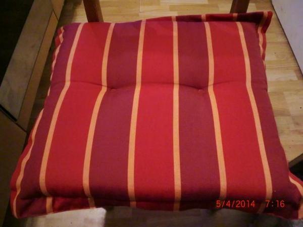 sehr hochwertige auflagen f r balkonst hle und hochlehner. Black Bedroom Furniture Sets. Home Design Ideas