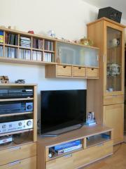 Wohnzimmerschrank Buche Massiv - Haushalt & Möbel - gebraucht und ...