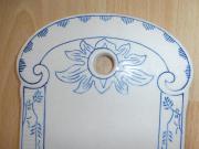 sehr seltenes antikes Keramik Majolika -