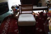 Sessel Holzgeflecht