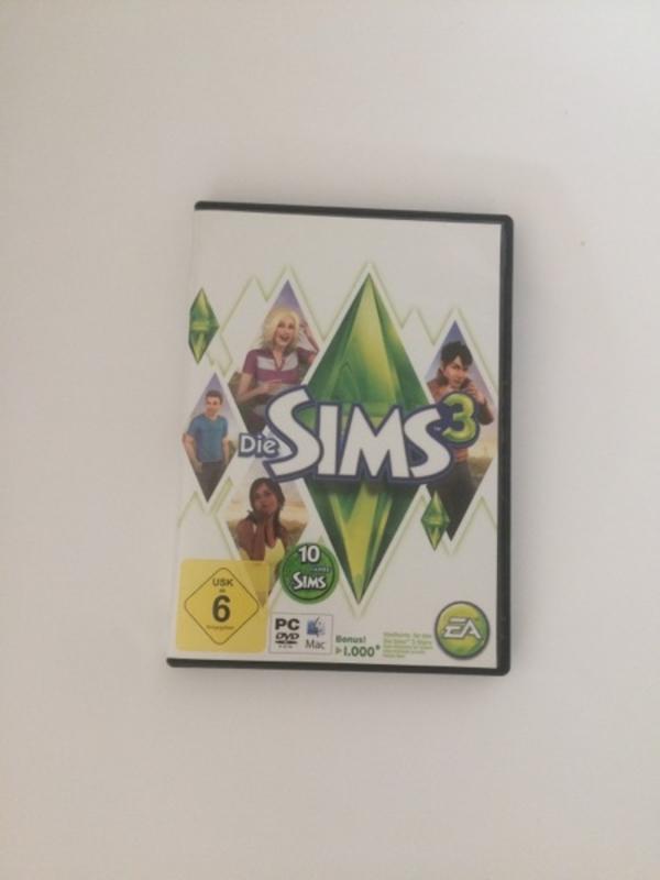Sims 3 PC/MAC - Mannheim Gartenstadt - Sims 3 für PC oder Mac Nur wenige male in gebrauch - Mannheim Gartenstadt