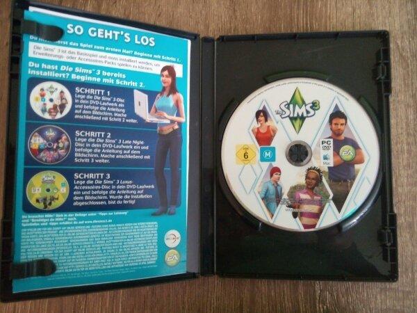 Sims 3 Starterset Computerspiel - München Hadern - Versand möglich. Keine Garantie und Rücknahme, da Privatverkauf. - München Hadern