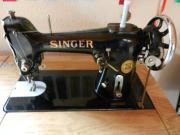Singer Nähmaschine mit Unterschrank