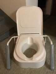 Sitzerhöhung für Toilette
