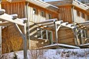 Skihütte, Ferienhaus in