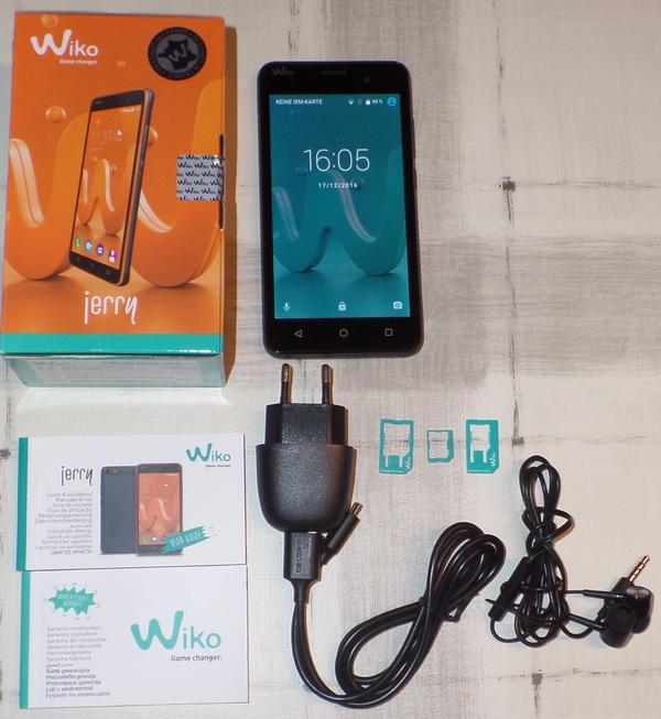 smartphone wiko jerry entsperrt offen f r alle netze. Black Bedroom Furniture Sets. Home Design Ideas