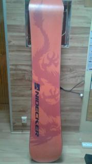 Snowboard+Bindung + Tasche