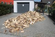 Sommer Angebot Brennholz