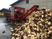 Spalte Stammholz mühelos Sägespaltautomat oder