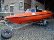 Speedboot mit Trailer