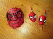 Spider Man Maske und Walkie