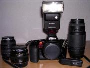 Spiegelreflex Canon EOS 10 technisch
