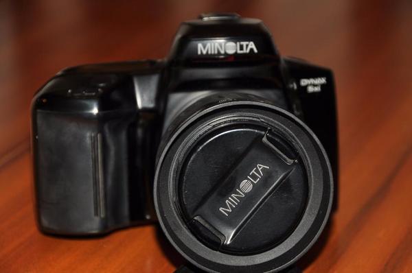 Spiegelreflex Minolta Dynax 5xi technisch