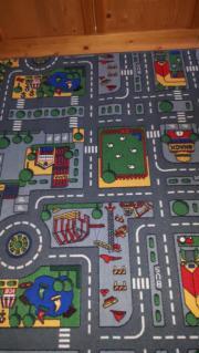 Spielteppich Straße