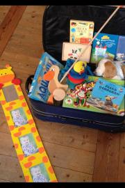 Spielzeug / Kiste voller