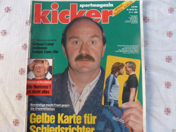 Sportmagazin KICKER vom » Zeitschriften, Magazine