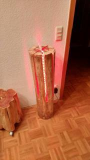stehlampe led lampe unikat einzelst ck baum stamm holz kunst motors ge deko statue. Black Bedroom Furniture Sets. Home Design Ideas