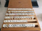 Stempelkasten aus Holz -