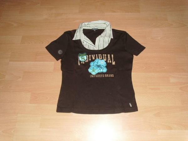 T-Shirt von Street One braun