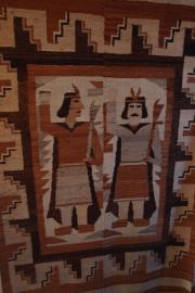 Teppich aus Peru