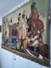 Teppich: Rarer Wandteppich