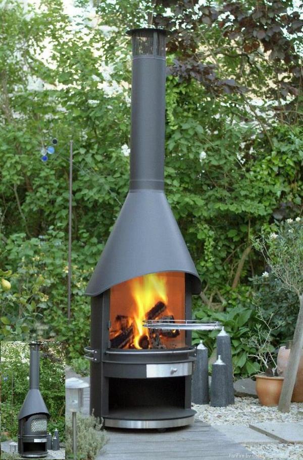 terrassenkamin grill grillkamin der extraklasse grill. Black Bedroom Furniture Sets. Home Design Ideas