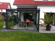 terrassenüberdachung alu 8mm vsg / klar breit 5,00m x 4,00m tief, Hause deko