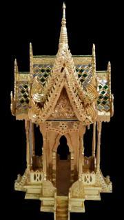 Thailand Geisterhaus Gold Farbe 93cm