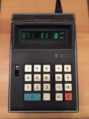 Tischrechner TE 8000 aus 1972