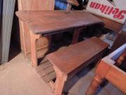 Schultisch antik  Tolle Schulbank Kinder Schreibtisch gewachst Schultisch Antik ...
