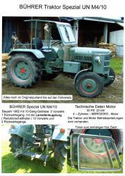 Traktor mit Zubehör