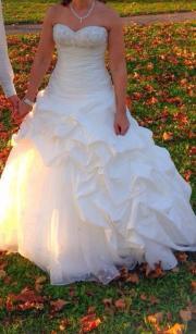 traumhaftes Hochzeitskleid von