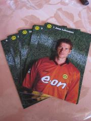 Ueber 420 Fussball - Autogrammkarten DFB