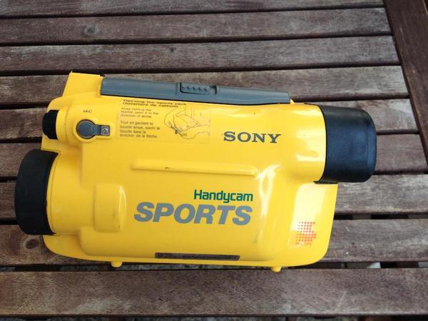 Unterwassergehäuse Sony SPK-TR TOP-ZUSTAND