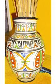 Vase Afrikanisch Keramik