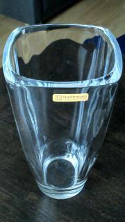 Vase aus Kristallglas